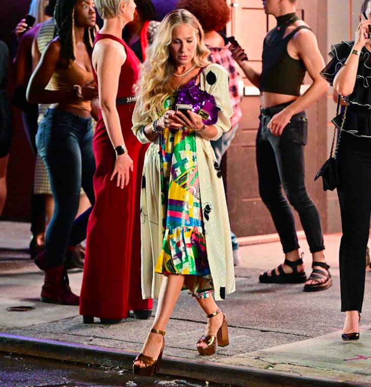 FENDI y Carrie Bradshaw, un nuevo encuentro en el reebot
