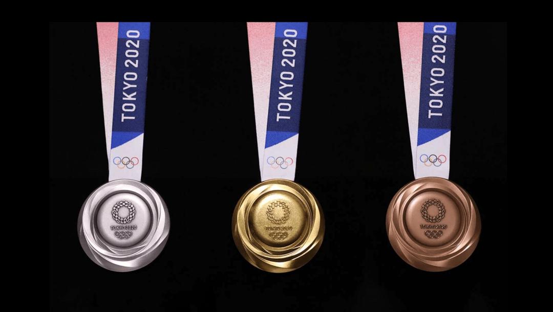 Las medallas de los Juegos Olímpicos de Tokio son únicas en la historia