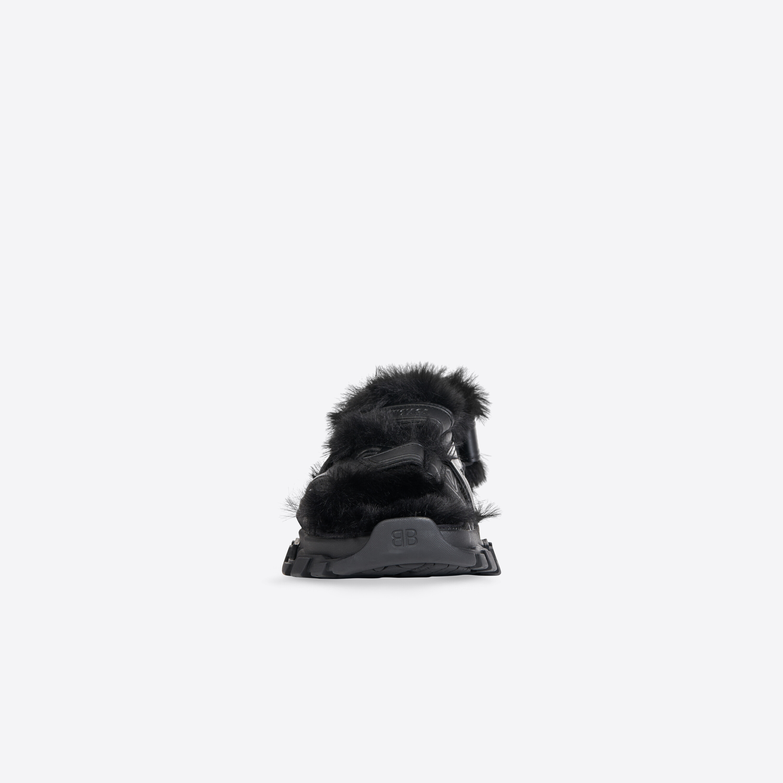 Current Obsession: Las sandalias peluche de Balenciaga para el otoño