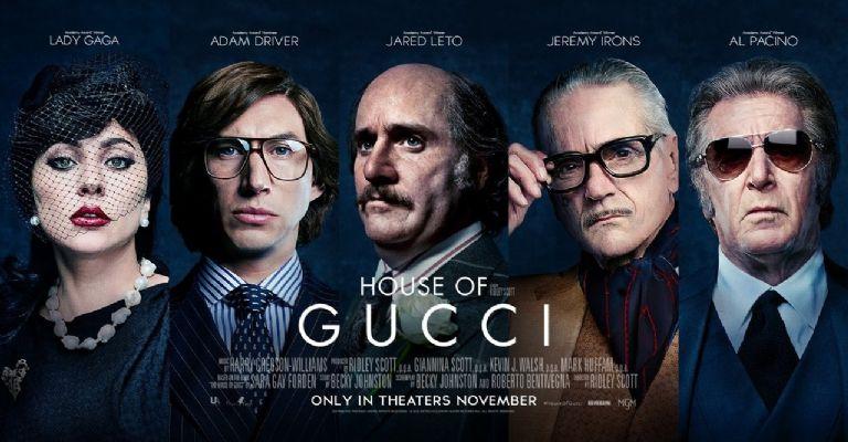 House of Gucci presenta sus primeros pósters oficiales y revela fecha de estreno