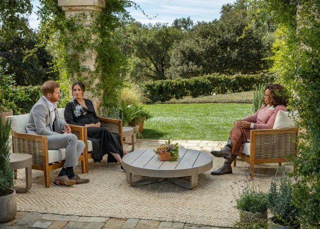 La entrevista de Meghan Markle y el príncipe Harry con Oprah Winfrey alcanza una nominación al Emmy