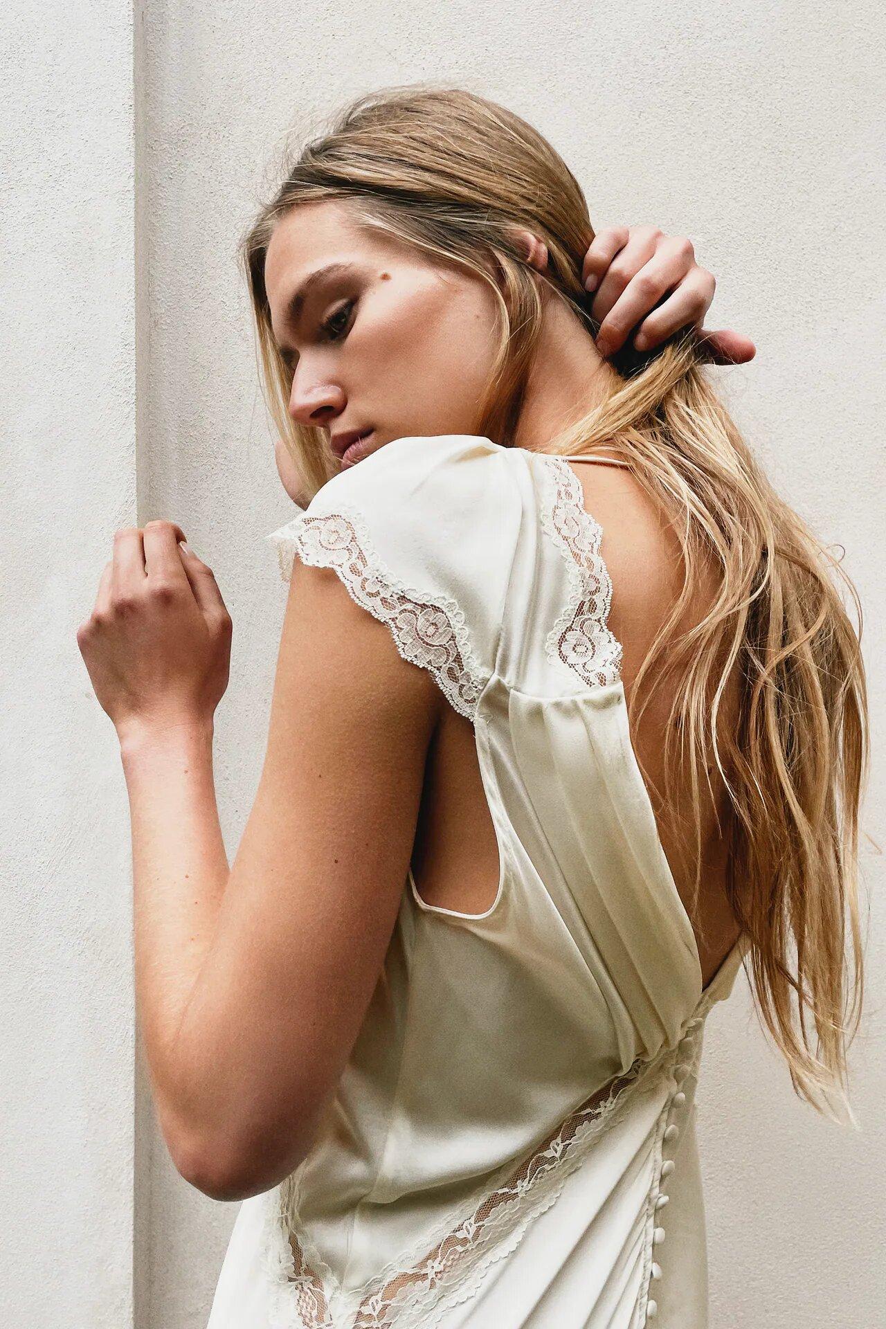 Conoce la primera colección para novias de Zara