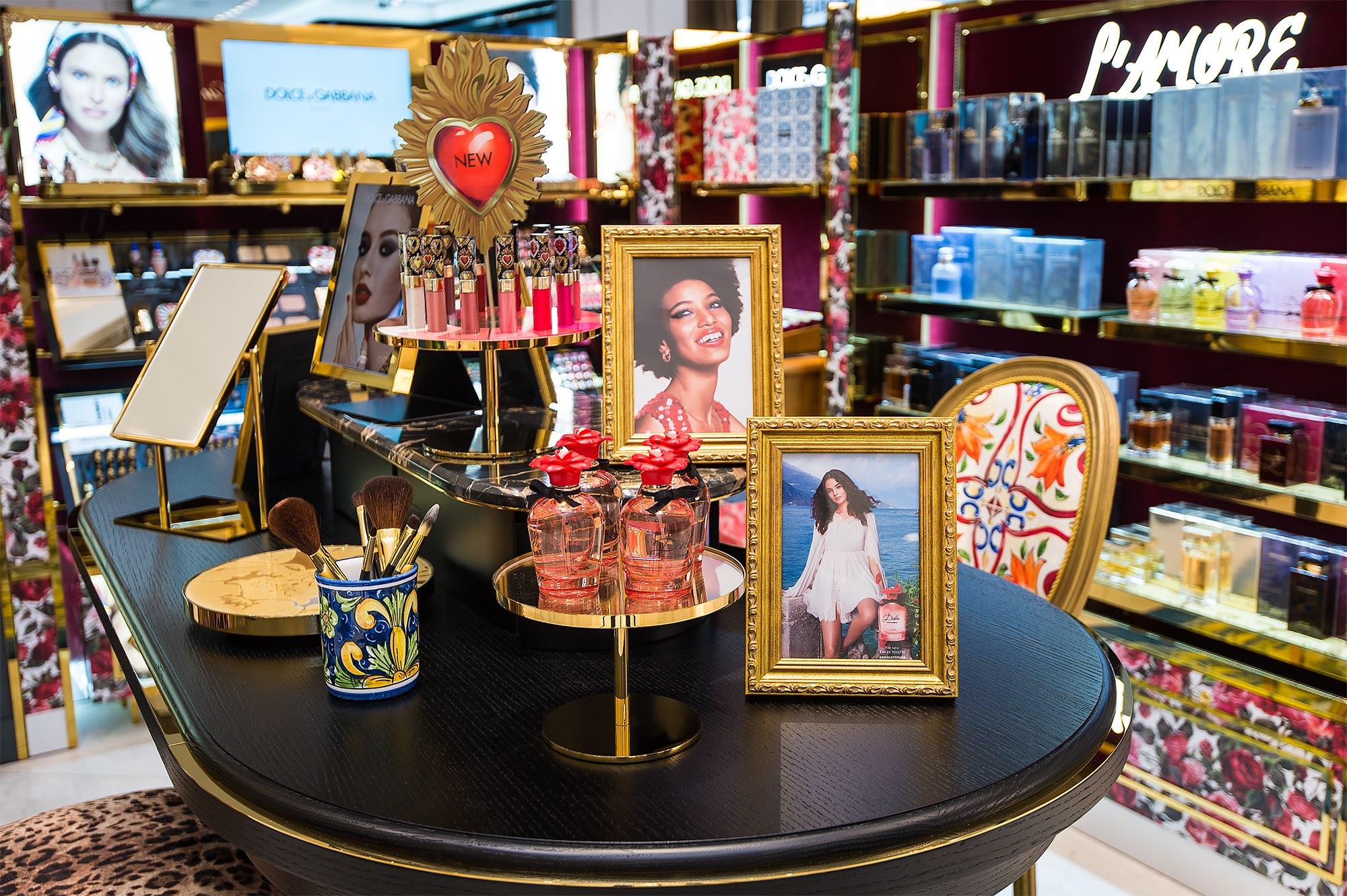 La Casa Dolce&Gabbana Beauty llega a México, convirtiéndose en la primera en Latinoamérica
