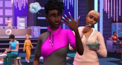 Última actualización de The Sims 4 permite día de spa que incluye mani y pedi