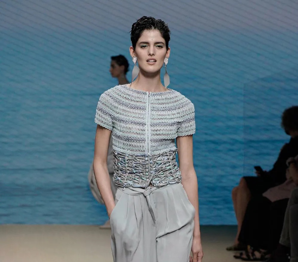 Giorgio Armani nos mostró el Made in Italy del Milán Fashion Week 2021