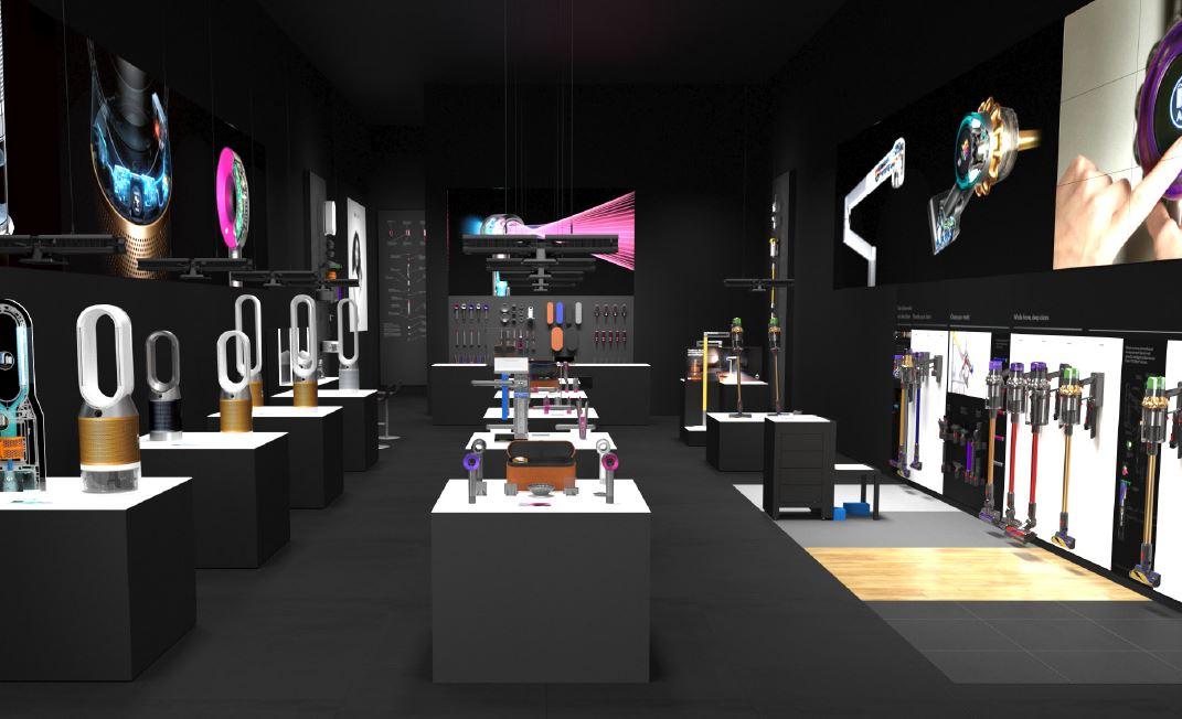 Con atención personalidad, Dyson abre su primera boutique en México