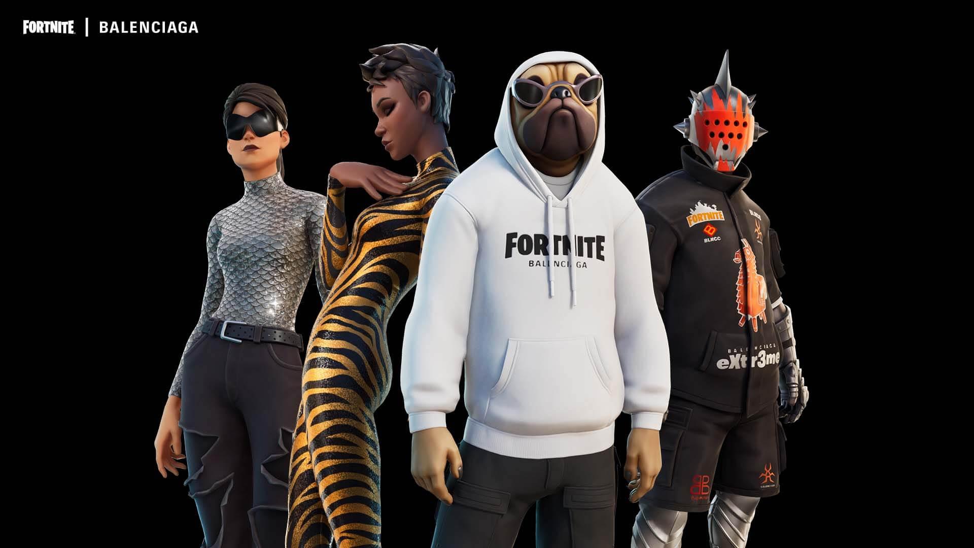 Balenciaga X FORTNITE, la primera colaboración de una marca de lujo con el videojuego