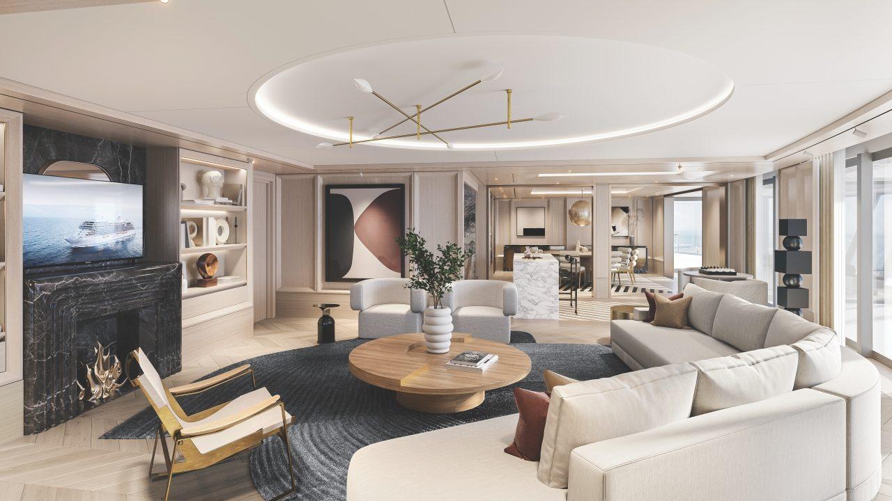 A suíte de luxo para velejar na Grandeza dos Sete Mares