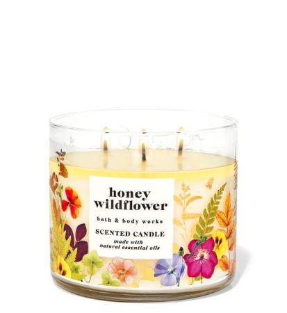 Vela Aromática: Honey Wildflower