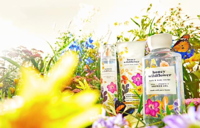 Bath & Body Works: Honey Wildflower