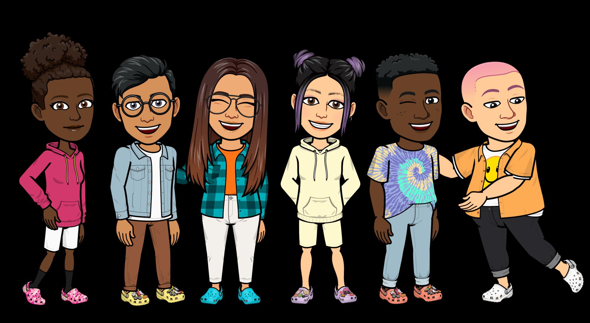 Bitmoji X Crocs, la colaboración que agrega las nuevas tendencias de moda en Snapchat