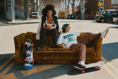 No Fear, la nueva colección de H&M junto a The Skate Kitchen
