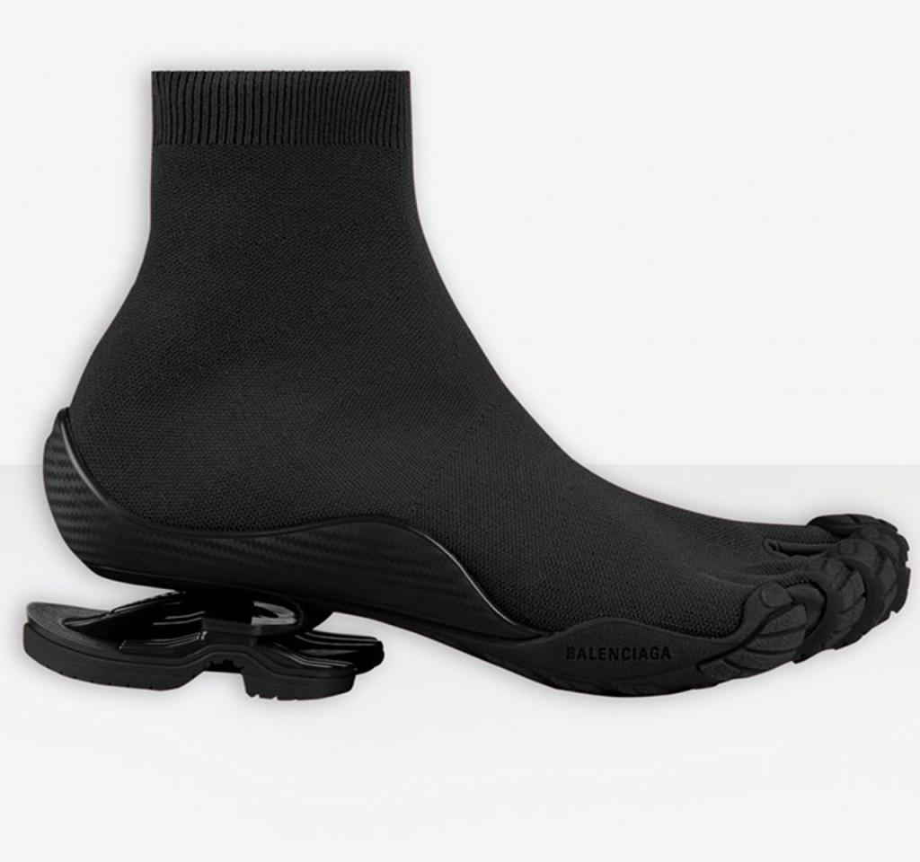 Balenciaga x Vibram Toe Sock