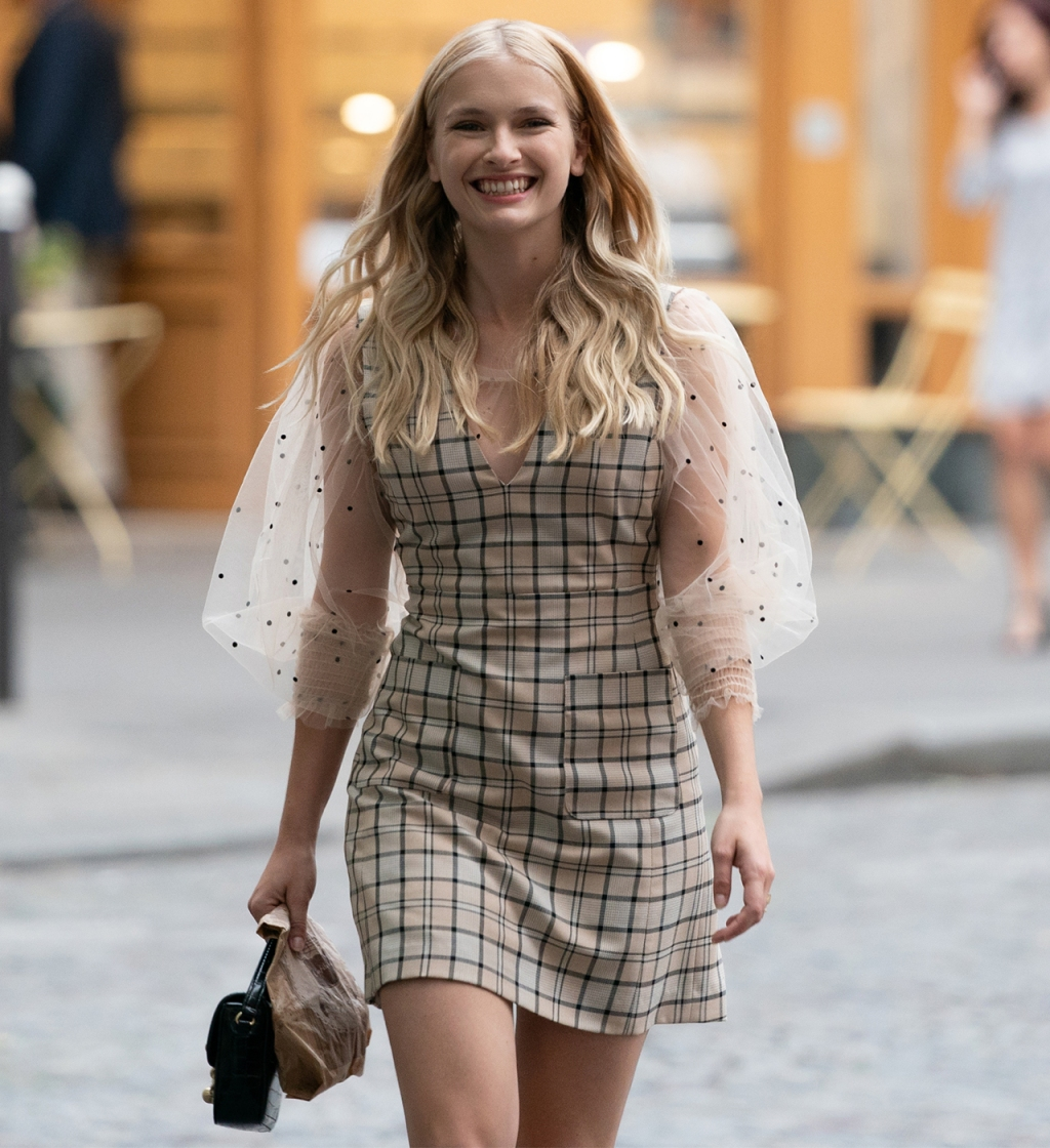 Camille (played by Camille Razat) wearing See by Chloe