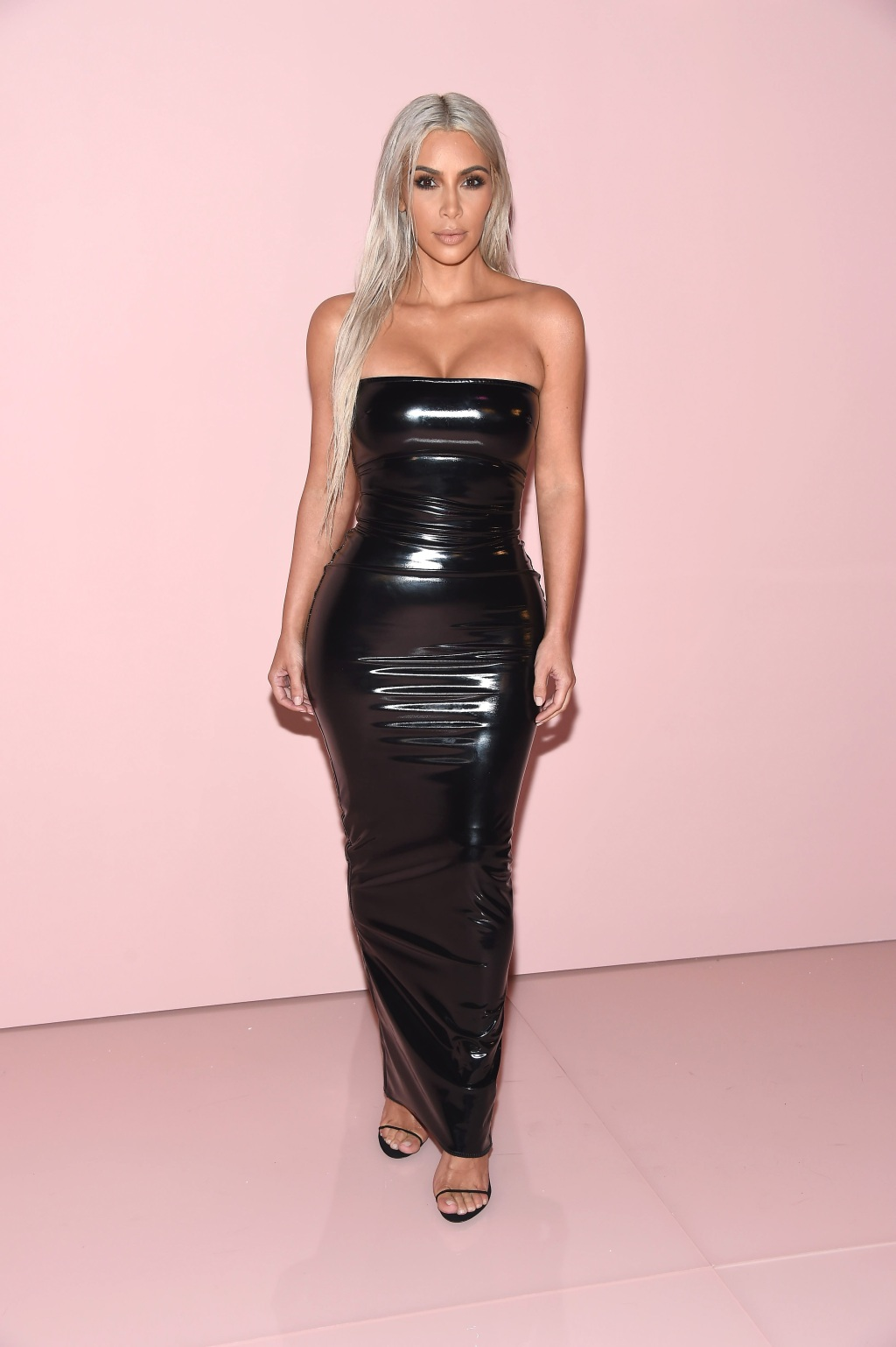Kim Kardashian at the Tom Ford NYFW Show