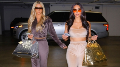Skims Velour CollectionKim Kardashian and Paris Hilton