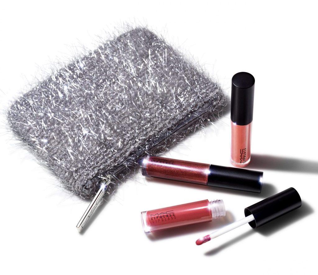 MAC Cosmetics Fireworked Like a Charm Mini Lipglass Kit