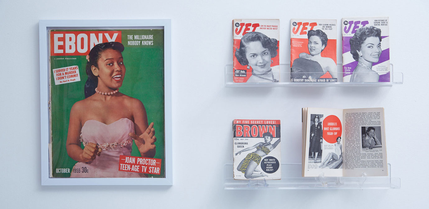 'Ebony' and 'Jet' magazines' problematic advertisements from 1950.