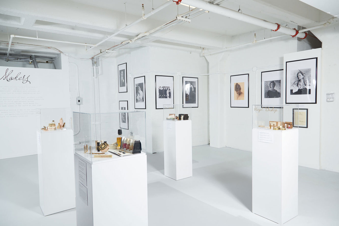 The Makeup Museum's Makers Room.