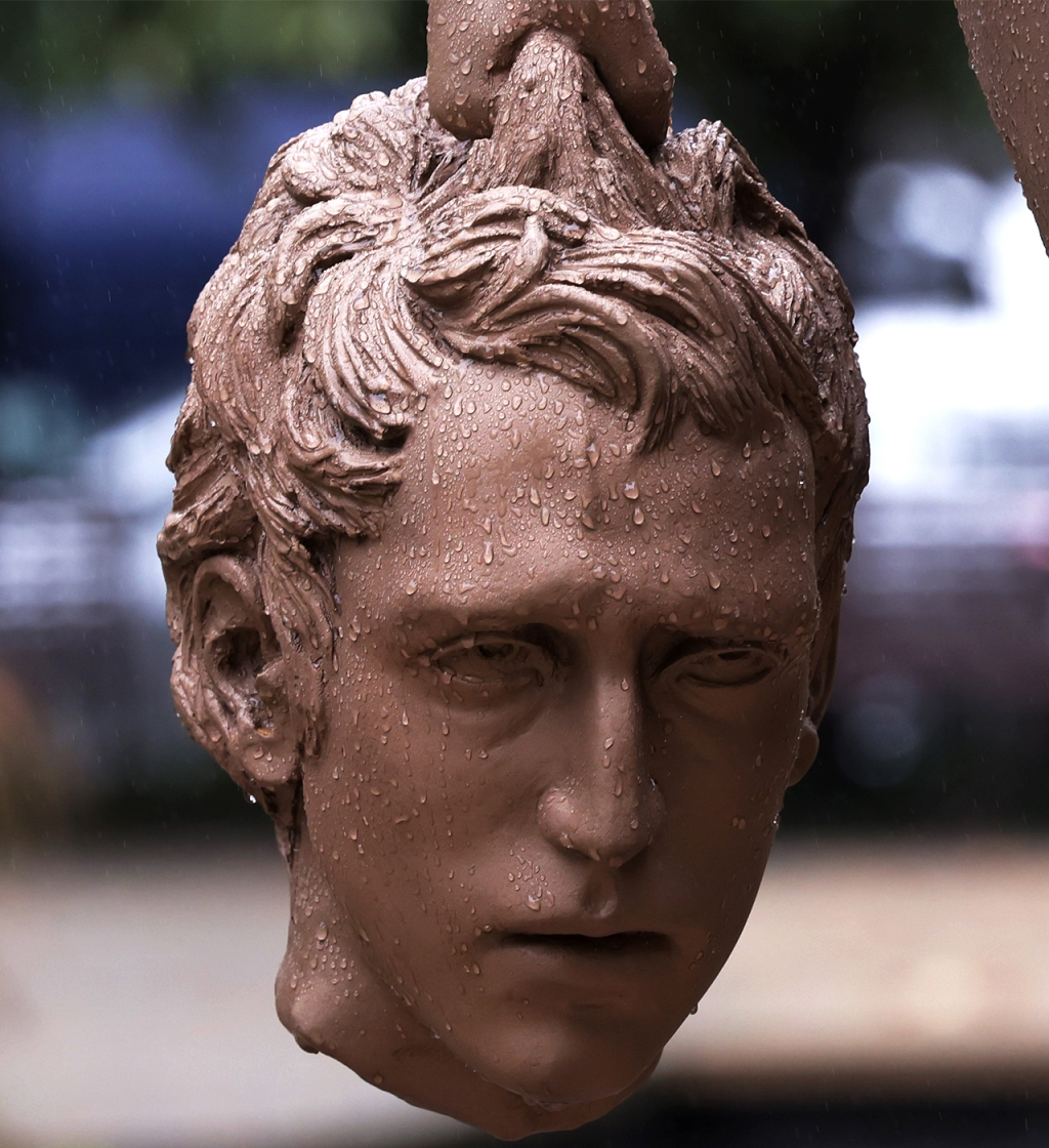 """""""Medusa With Head of Perseus"""" Statue in NYC"""