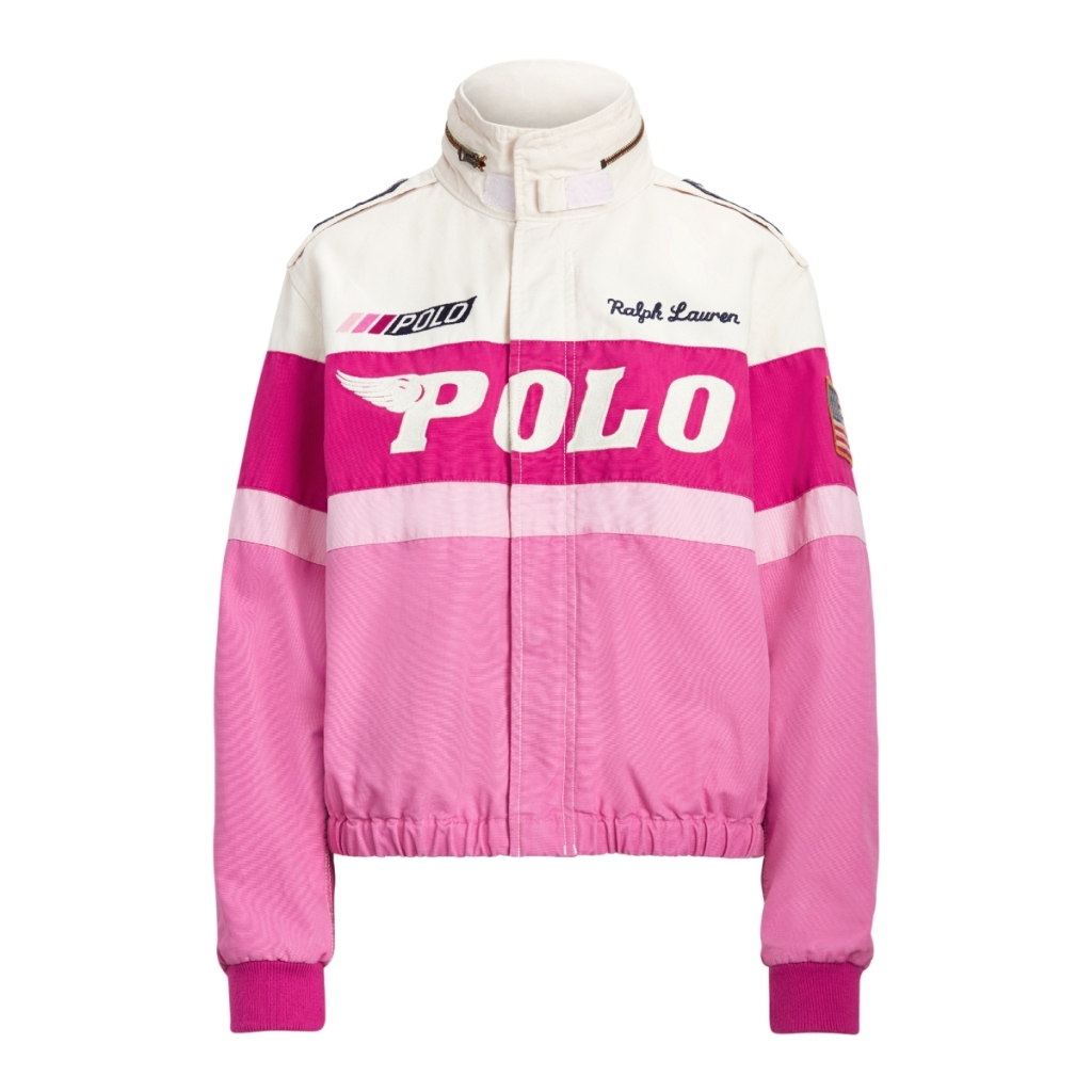 Ralph Lauren Cotton Bomber Jacket