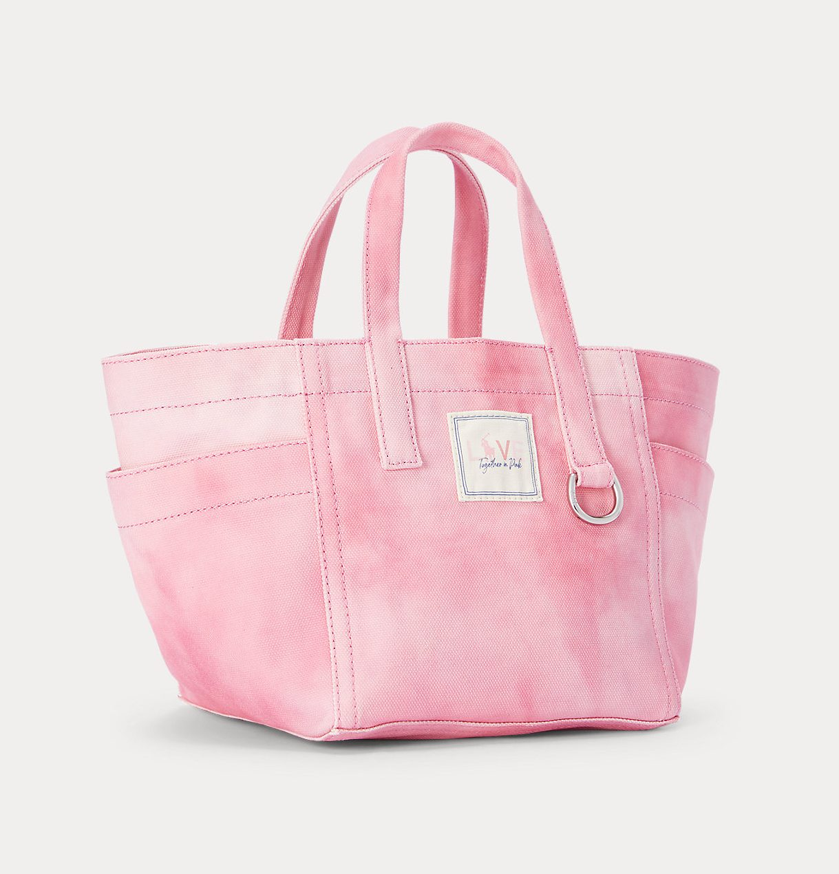 Ralph Lauren Pink Pony Tie-Dye Mini Tote Bag