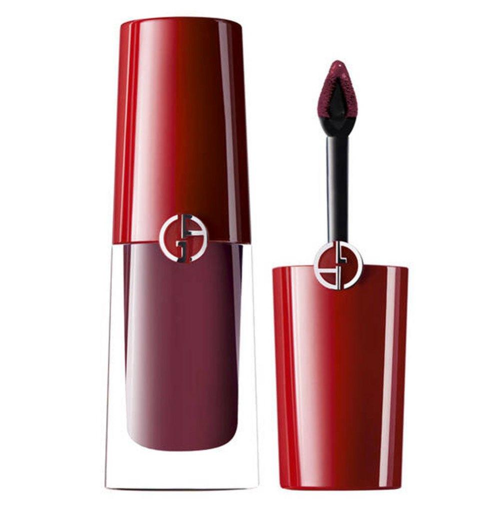 Giorgio Armani Lip Magnet Ultra-Matte Liquid Lipstick.
