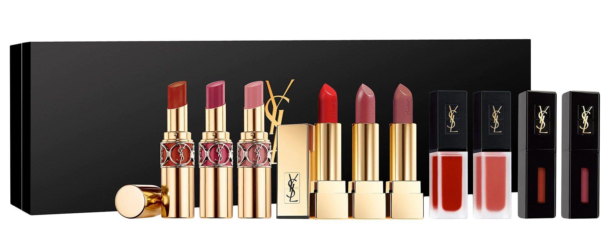 YSL Showroom Lipstick Vault