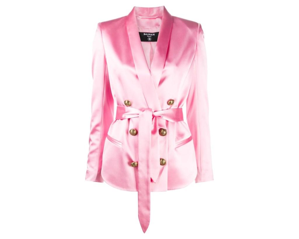 Balmain Pink Blazer