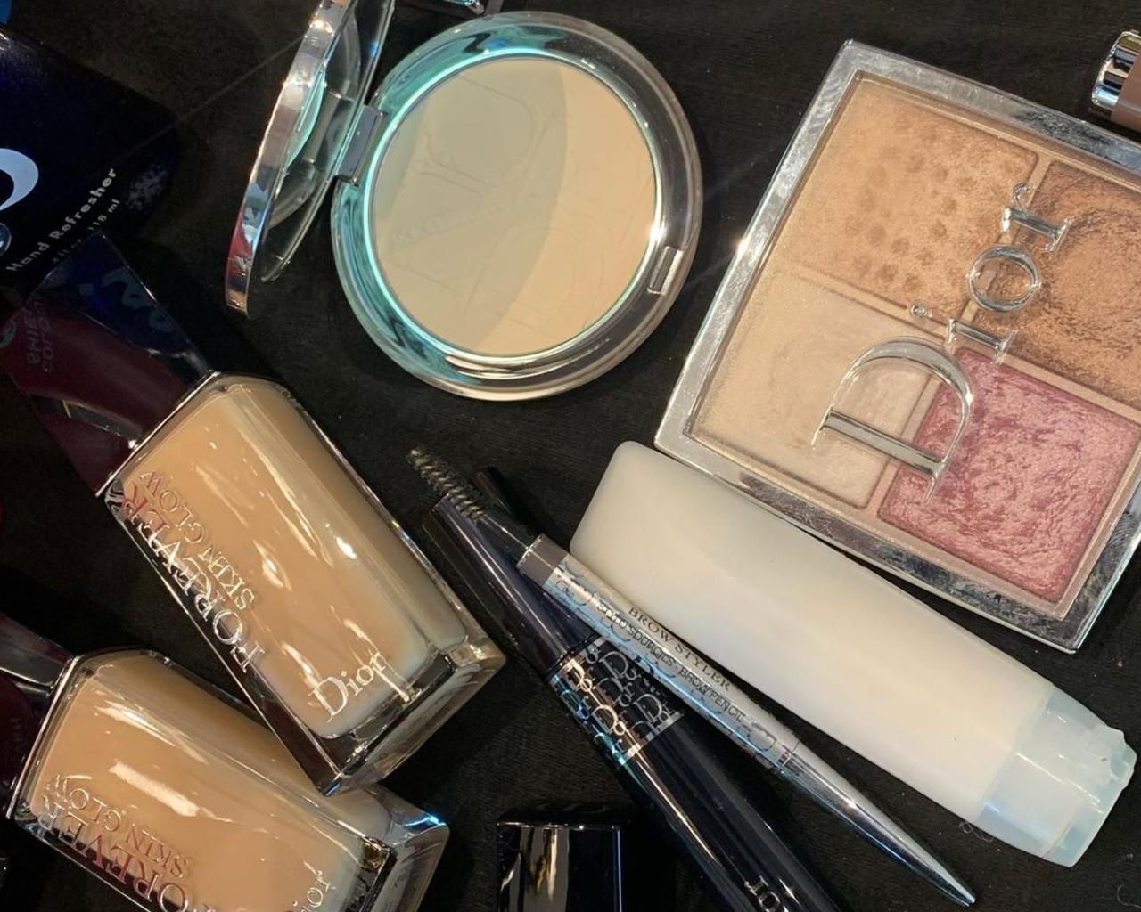 Dior Makeup Cara Delevingne