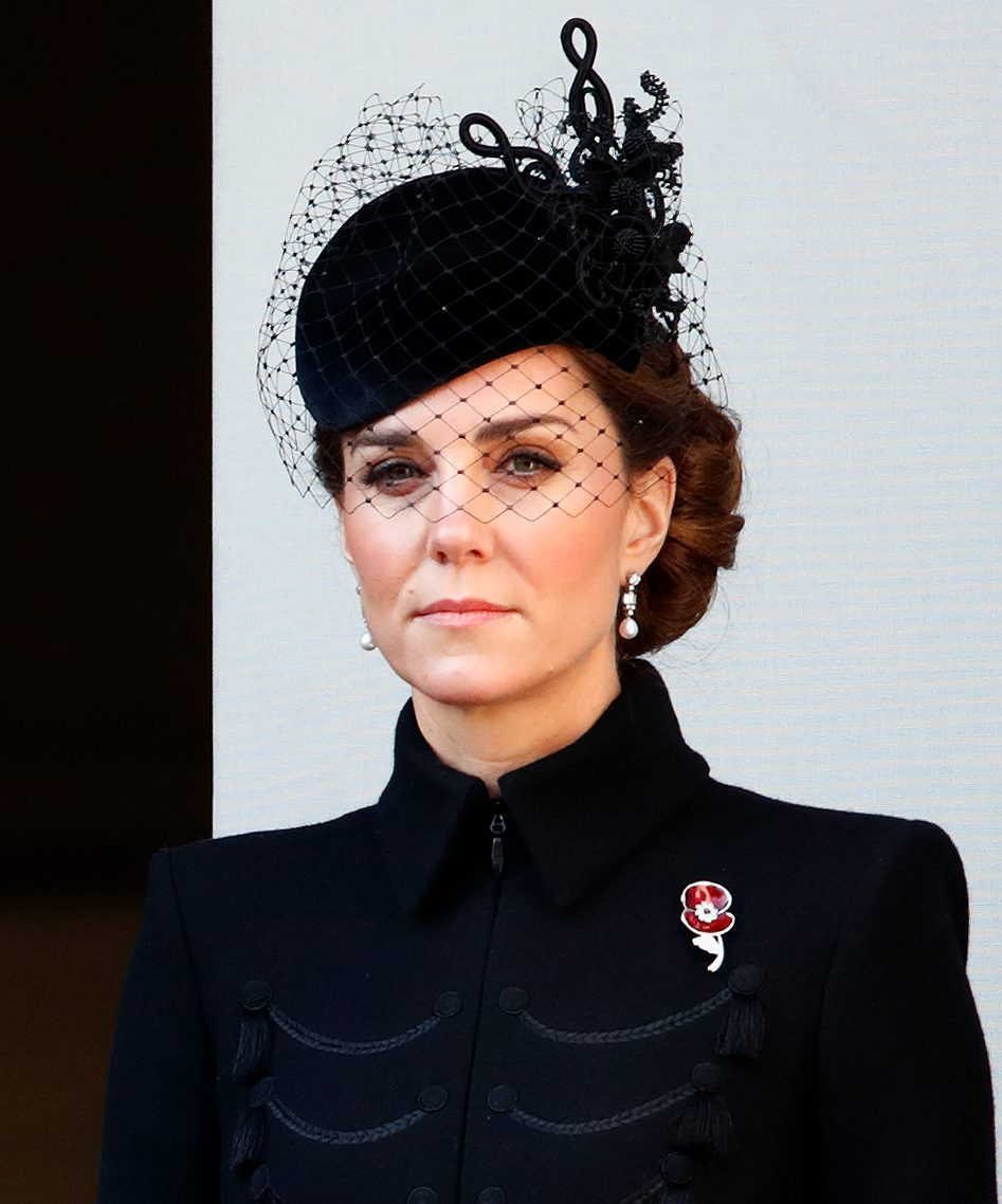 Kate Middleton Remembrance Sunday 2019