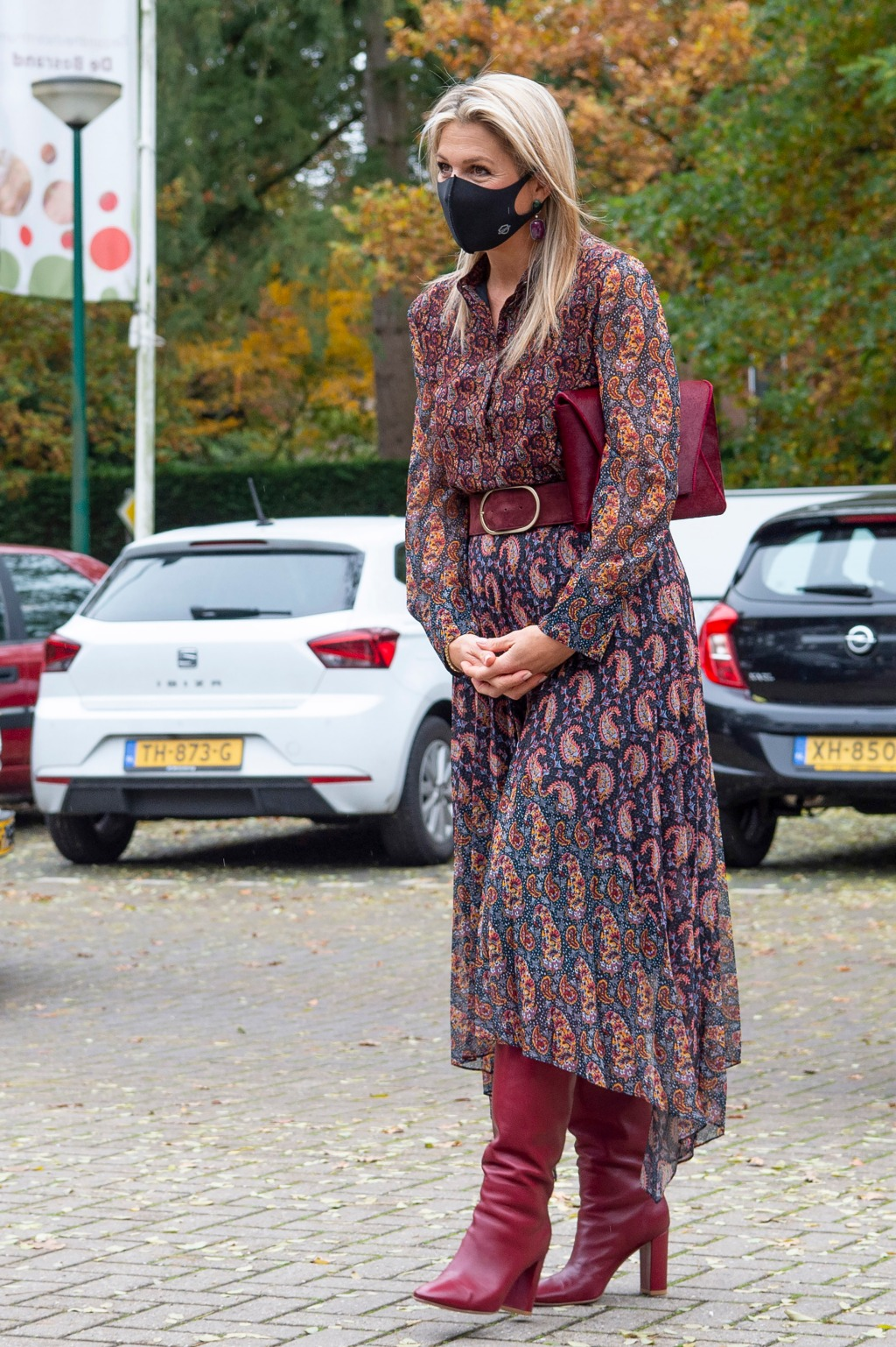 Queen Maxima Of The Netherlands Visits A Doctor Unit In Driebergen