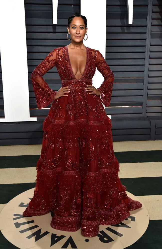 Tracee Ellis Ross 2017 Vanity Fair Oscars Party