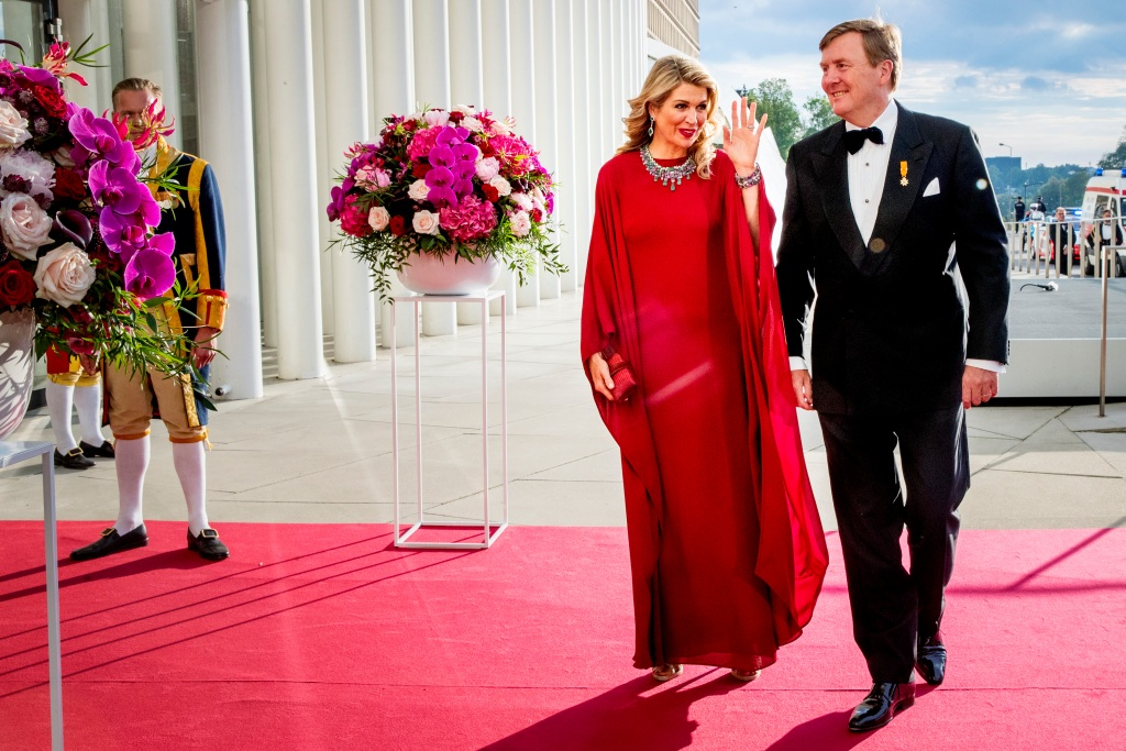 King And Queen Of The Netherlands Visit Luxembourg : Day Two