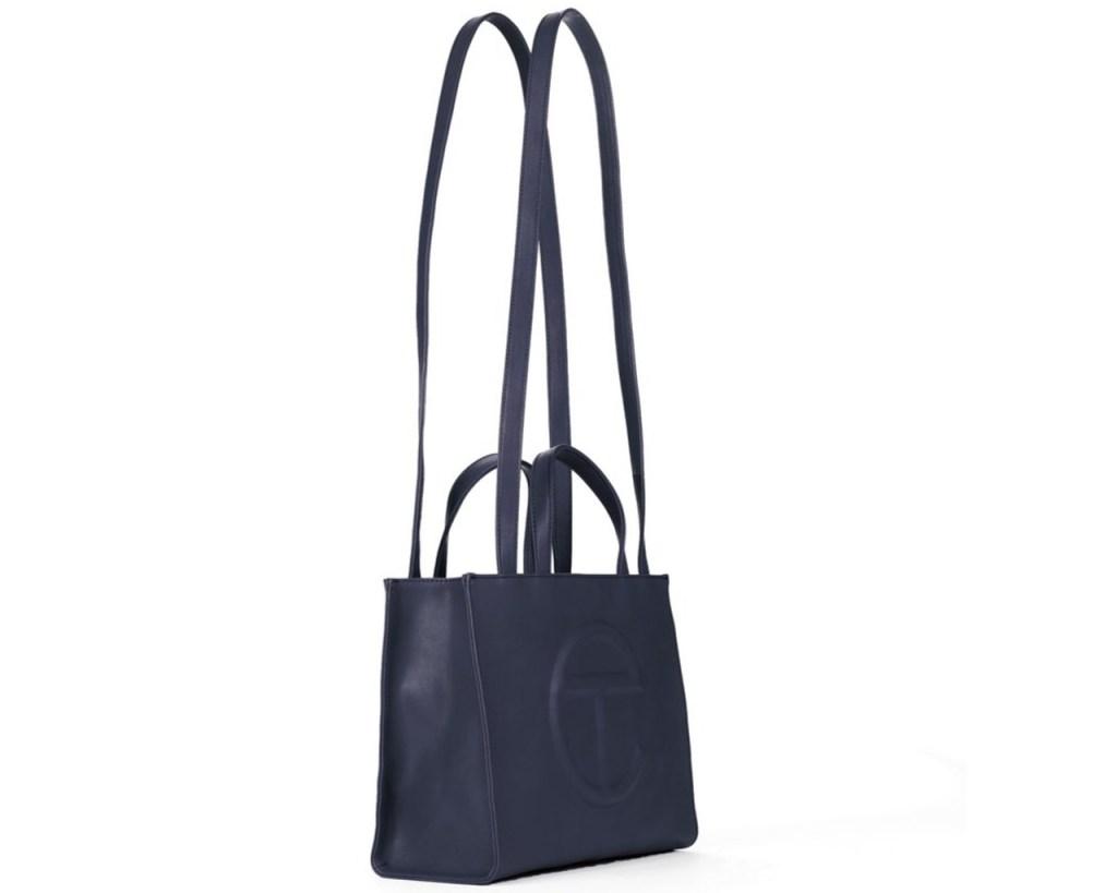 Medium Shopping Bag Navy Blue