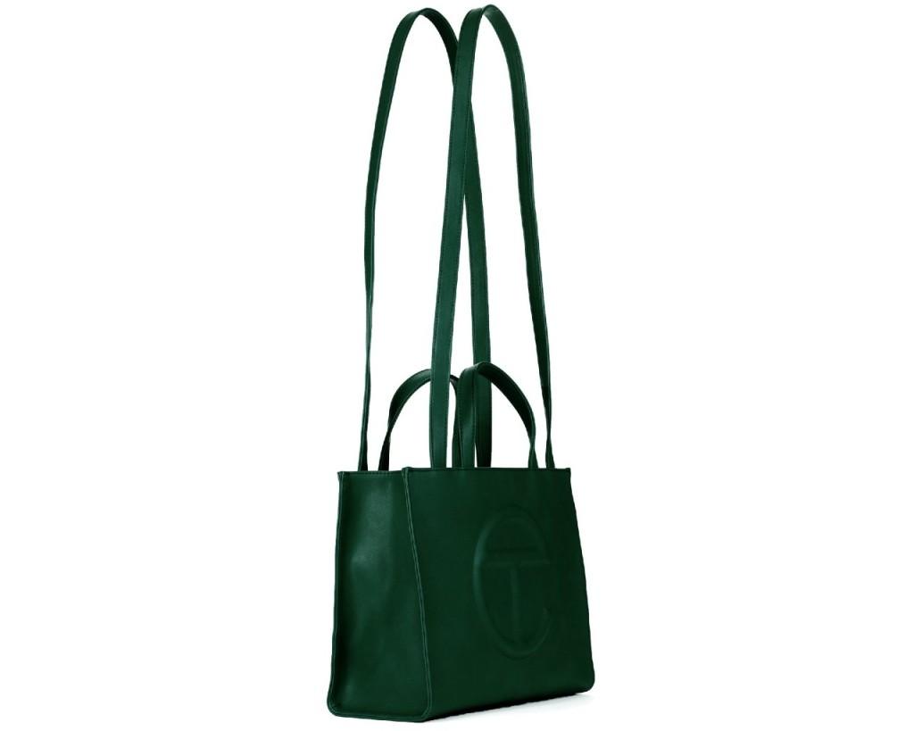 Medium Shopping Bag Olive Green
