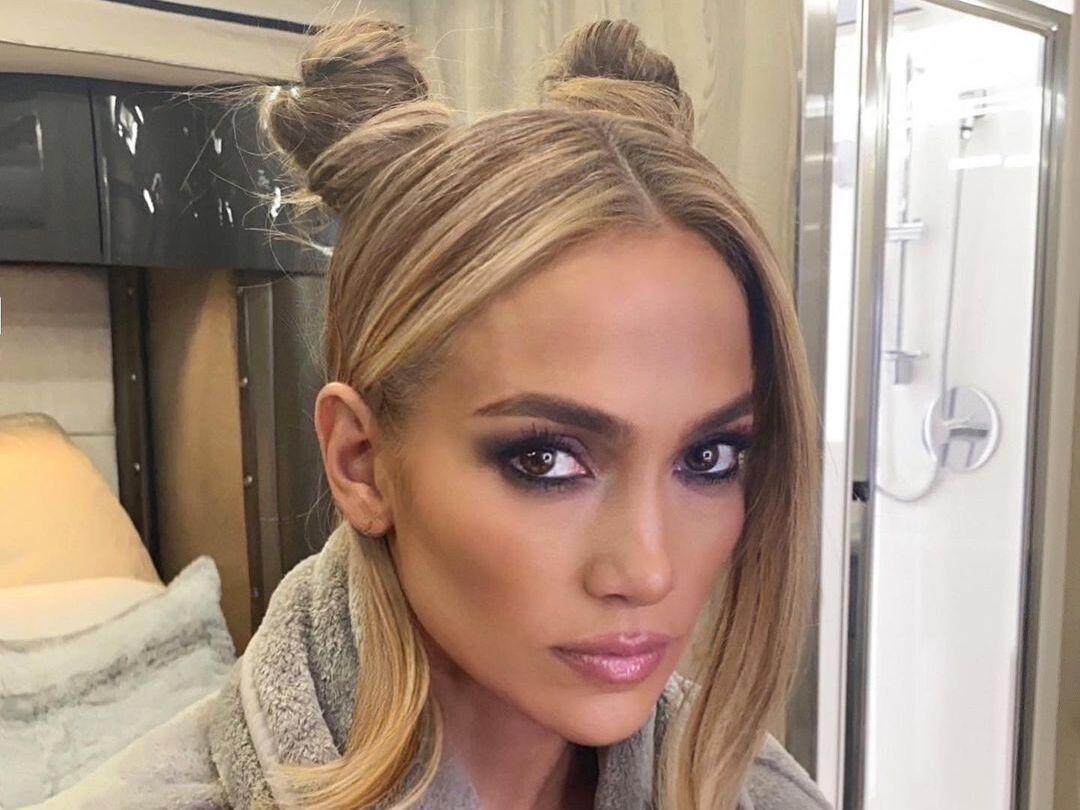 Jennifer Lopez Space Buns