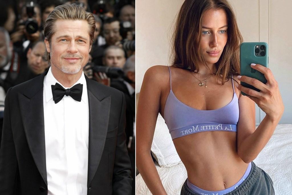 Brad Pitt & Nicole Poturalski