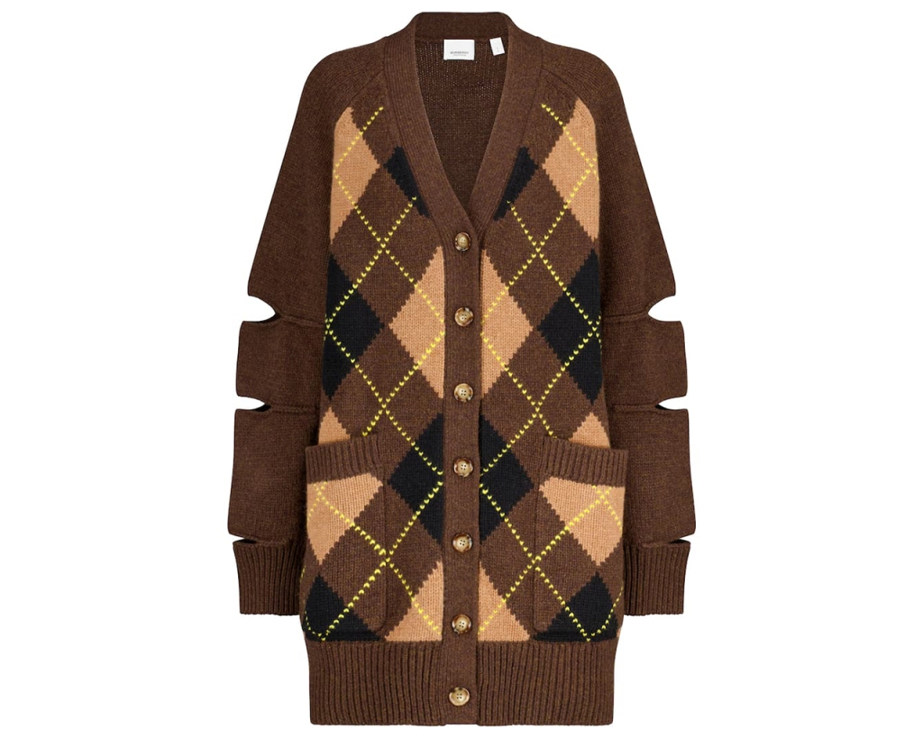 Burberry Argyle Cardigan