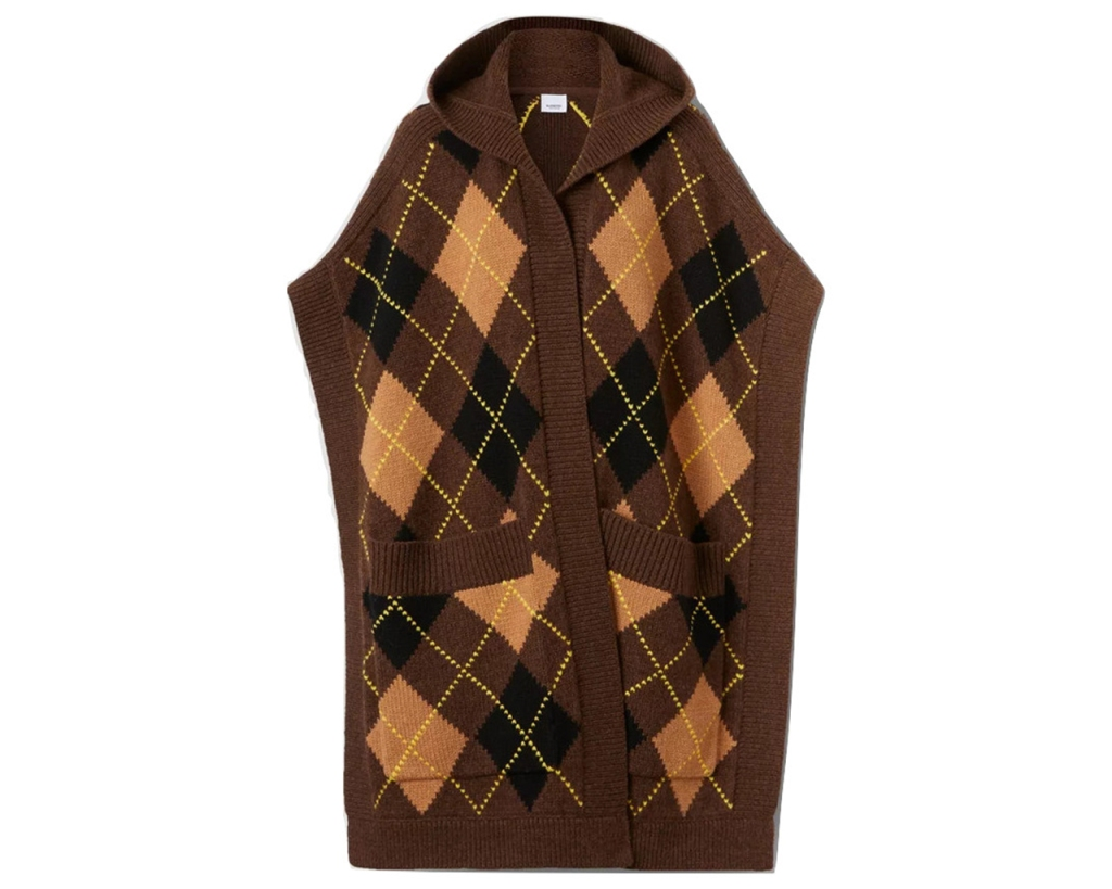 argyle Burberry Knit