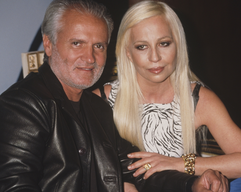 Gianni-and-Donatella-Versace