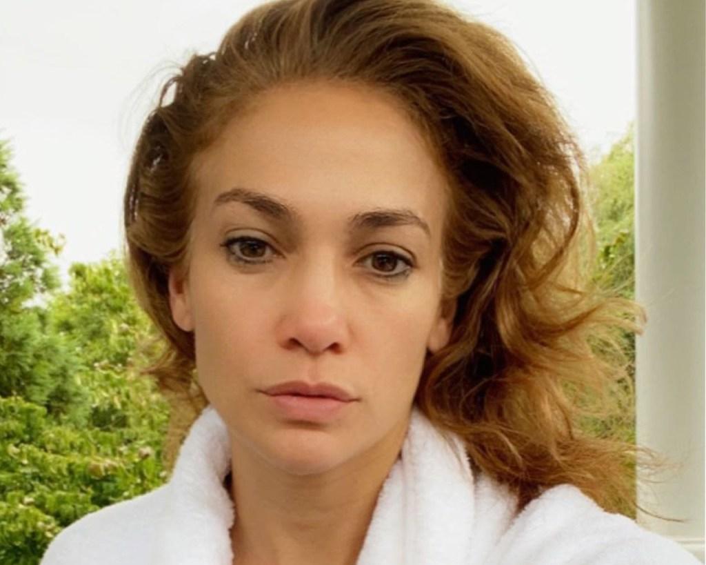 Jennifer Lopez's skincare routine