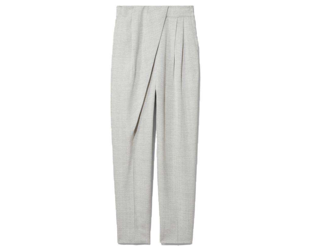 Lightweight Suiting Draped Pants