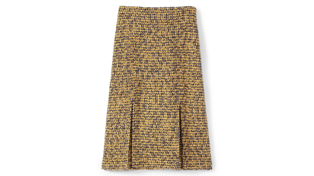 St John Bicolore Tweed Knit Skirt