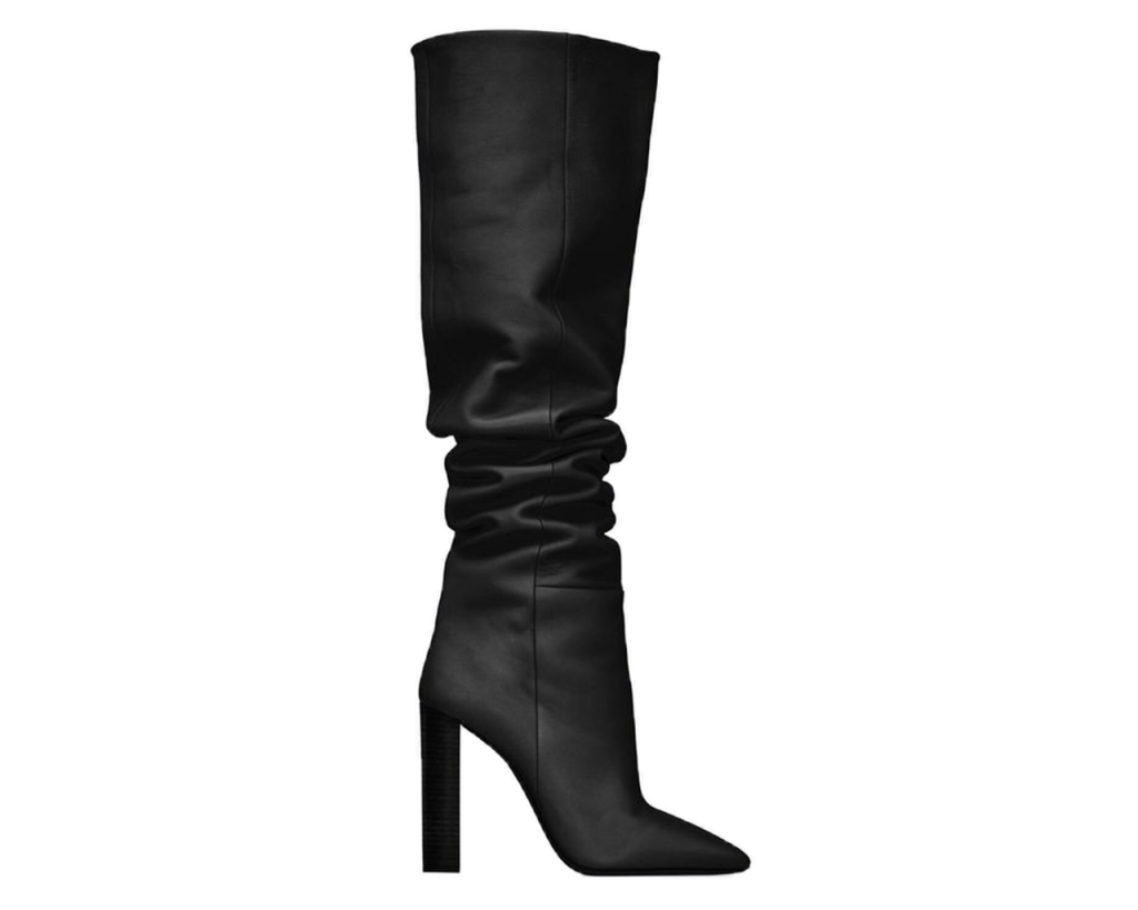 YSL 76 Over-the-Knee Boots