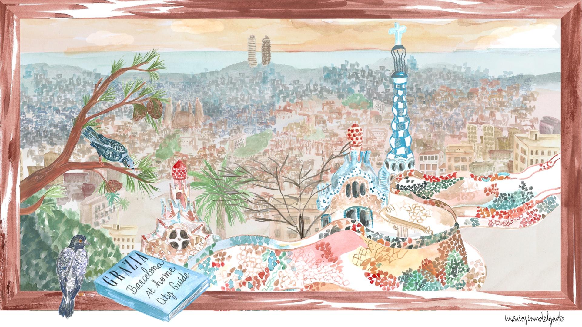 GRAZIA's At Home City Guide To Barcelona - Grazia USA