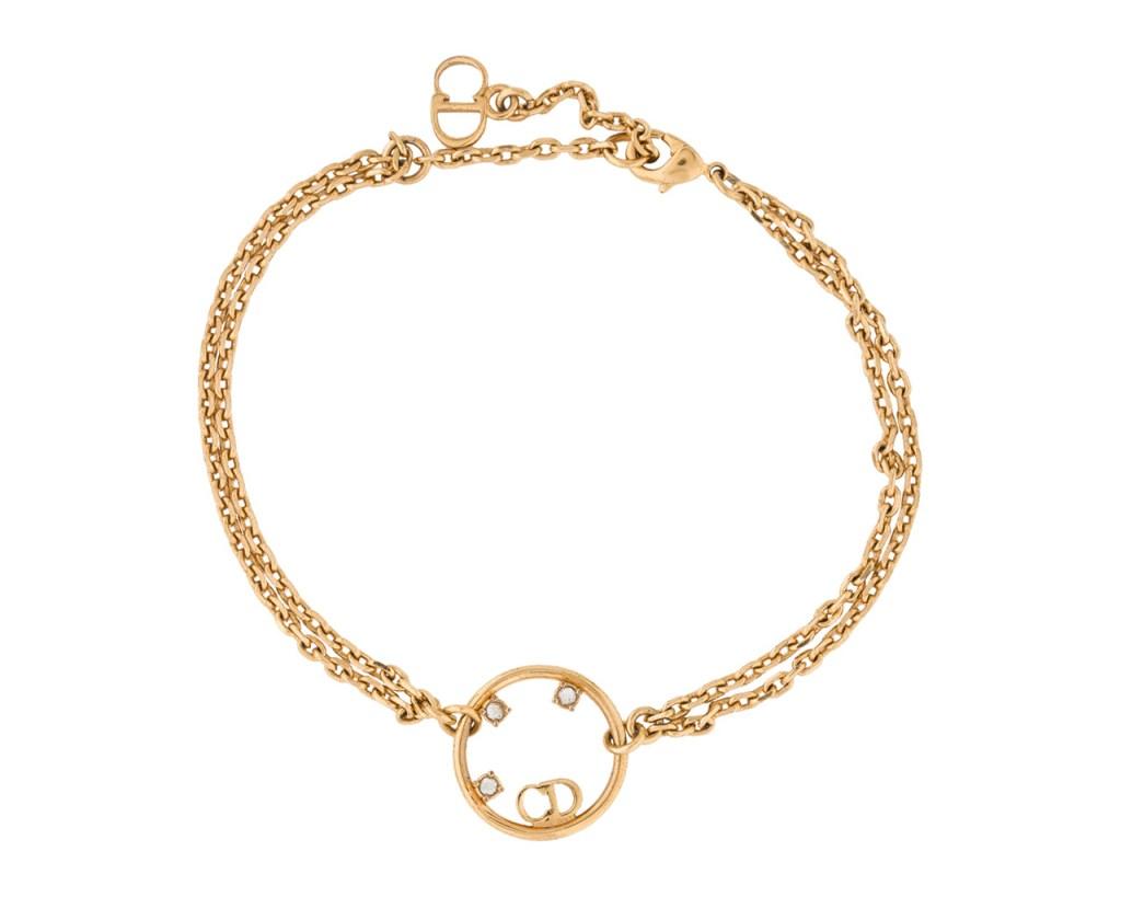 vintage Dior, gold bracelet