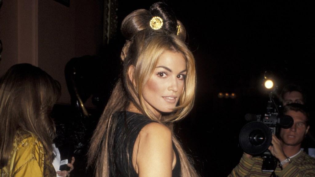 Cindy Crawford's, Versace, Cindy Crawford