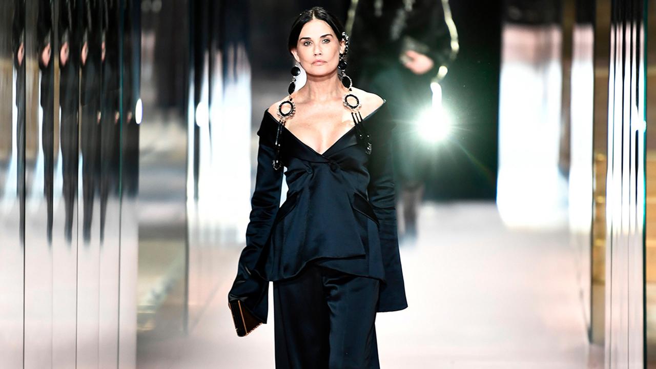 Why Did Demi Moore Open the Fendi SS21 Haute Couture Show? - Grazia
