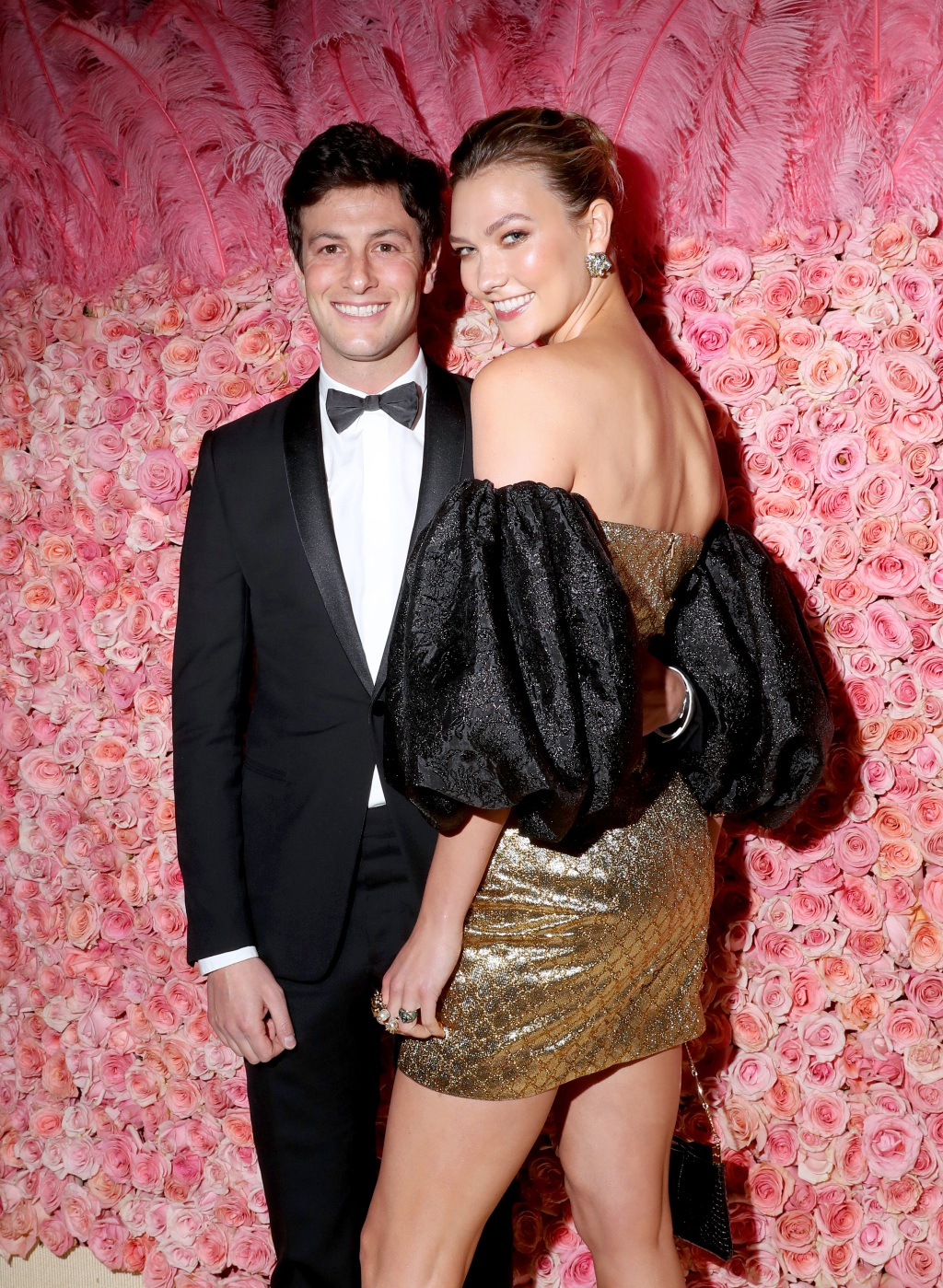 Joshua Kushner and Karlie Kloss